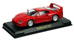 model f40 f40 diecast model car by ex mag bk15