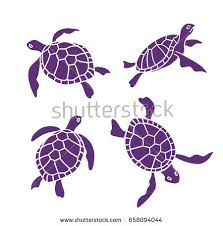 turtle tortoise realistic style top view stock vector 405141106