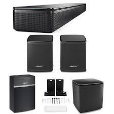 bose soundtouch 300 indicator lights bose soundtouch 300 soundbar black with bose speaker bundle