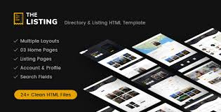 web templates website templates directory listing website theme airbnb templates from themeforest