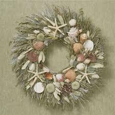 seashell wreath st croix coastal starfish seashell wreath