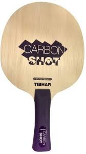 best table tennis paddle for intermediate player tibhar carbon shot multicolor table tennis paddle buy tibhar