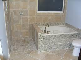 bathroom fascinating corner bath shower combo 101 corner tub