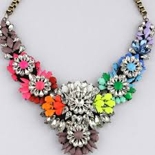 coloured statement necklace images Multi colored statement necklace necklace wallpaper jpg