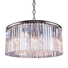 Sparkle Plenty Chandelier Cleaner Restoration Revolution Rhys Crystal Prism 8 Light 31 5