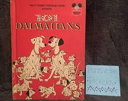 101 dalmatians book etsy