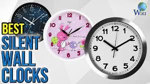 Best Wall Clock 10 Best Silent Wall Clocks 2017 Youtube