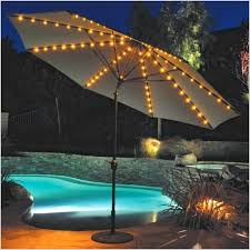 offset patio umbrella with led lights amazing solar umbrella lights or illuminated patio umbrella with