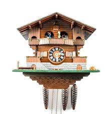 Chalet Style by Switzerland Music Box Chalet Style Cuckoo Clock Ebth