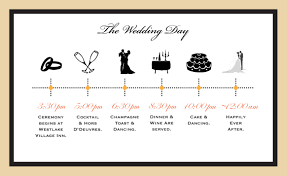 wedding invitations timeline wedding reception timeline additional information wedding
