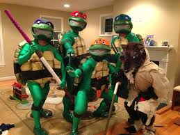 Ninja Turtle Halloween Costumes Ninja Turtles Halloween Costume Tmnt Creative Teenage Mutant
