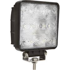 ultra tow led flood light 9 leds 2 150 lumens led automotive