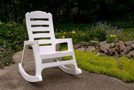 Stackable Resin Patio Chairs by Big Easy Stacking Rocking Chair Adams Manufacturing
