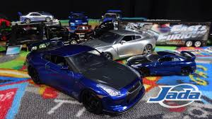 subaru biru fast and furious 7 brian u0027s blue nissan gtr jada toys youtube