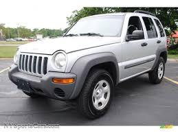 silver jeep liberty 2007 2002 jeep liberty sport 4x4 in bright silver metallic 102072