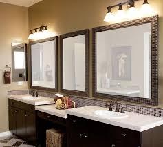 outstanding large round bath vanity mirror design ideas within