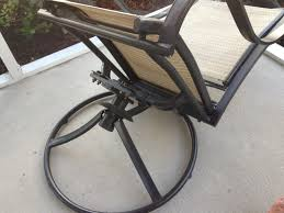 Patio Chair Webbing Material Patio Swivel Chair Repair Patio Swivel Chair Repair Garden
