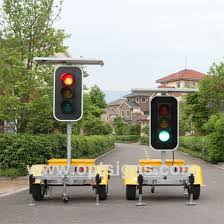 stop and go light china optraffic trailer mounted solar powered stop and go led