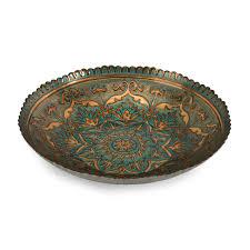 cheap fleur de lis home decor decorative bowls wayfair ravenna glass bowl loversiq