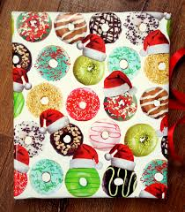 donut wrapping paper donut theme christmas wrapping paper 10 ft x 2 ft 3 048 m x 60