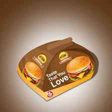 burger packaging template and logo we design packaging