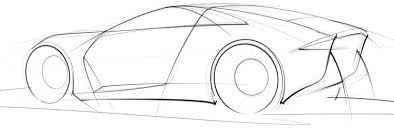 quick preview of a car sketch i u0027m working on u2013 scottdesigner