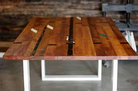 basketball court tables the lumber mill recycled timber tables