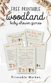 adorable baby shower games with printable templates baby shower