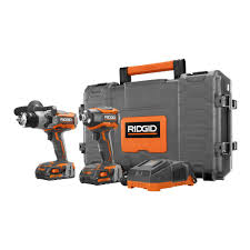 home depot black friday sale rigid ridgid gen5x 18 volt 1 2 in hammer drill driver and 1 4 in