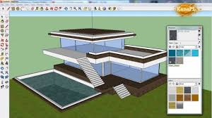 3d Home Design Software Tutorial Sketchup Tutorial House Custom Sketchup Home Design Home Design