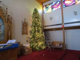 setting up the christmas tree part 1 martin luther lutheran church