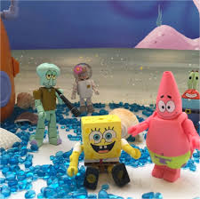 the spongebob minimates from diamond toys are so cute and fun to