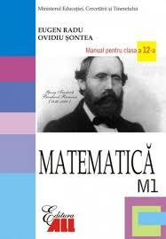 manual matematica m1 clasa a 12 a de la editura all