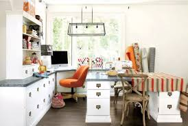 original home office interior design in your apartment nicely arranged working place in the large home office
