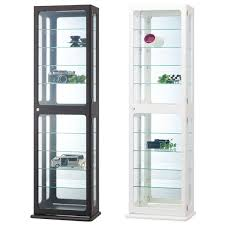 small curio cabinet with glass doors elegant white curio cabinet glass doors cabinet designs and ideas