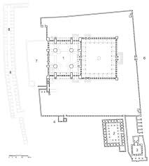 architectural drawings floor plan of the remaining buildings in