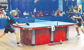 Table Tennis Championship Triple Crowns For Asim Raheela Newspaper Dawn Com