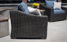 Outdoor Wicker Chair With Ottoman New Boston 8 Pc Patio Set Sofa 2 Chairs U0026ottomans Sides U0026coffee