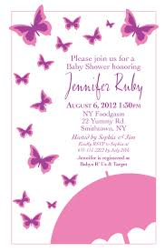 butterfly baby shower invitations theruntime