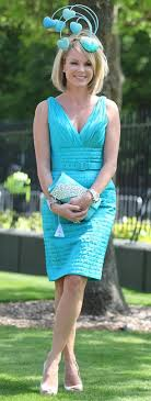 royal ascot 2010 amanda holden s luck is in as she colour co