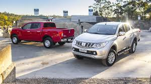 mitsubishi triton 2005 mitsubishi triton and nissan navara co development plans already