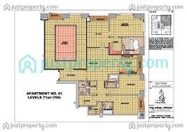Residence Floor Plans Elite Residence Version 1 Floor Plans Justproperty Com