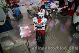 models of cbr honda cbr 250r police model displayed at security expo