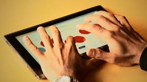 How Do Blind People Read Braille Touchscreen Braille Writer Lets The Blind Type On A Tablet Wired