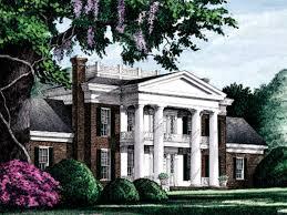 antebellum home plans plantation house plans mytechref