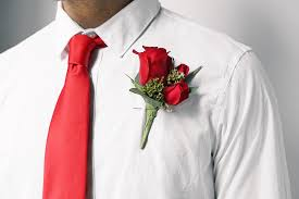 mens boutonniere how to put on a boutonniere in 5 easy steps ftd
