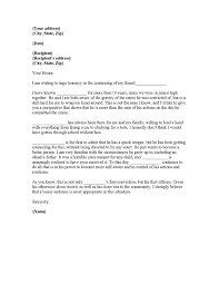 best solutions of military letter of character reference examples