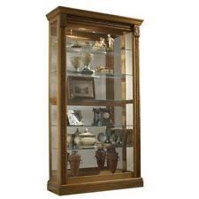 Corner Glass Display Cabinet Ebay Curio Cabinets Ebay