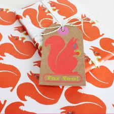 squirrel wrapping paper wrapping paper squirrel wrapping paper patterned wrapping