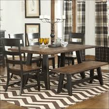 Elegant Kitchen Curtains by Kitchen Furniture Rustic Brown Table Black Chairs Feats Plaid